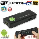 Android TV Box Full HD Multimedia Player WiFi, HDMI, USB, keyboard