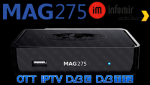 MAG 275 hybrid Set-Top Box IPTV